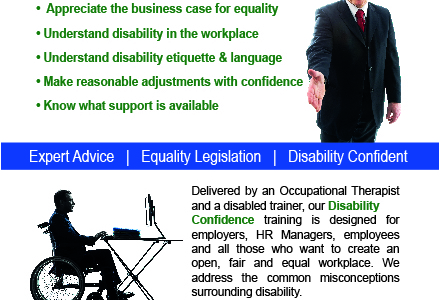 Disability confidence flyer